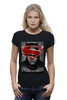 "Футболка Wearcraft Premium (Женская) ""Batman vs Superman"" - batman, superman, dc, бетмэн, batmanvsuperman"