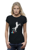 "Футболка Wearcraft Premium ""Единорог"" - радуга, пони, абстракция, unicorn, единорог"