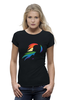 "Футболка Wearcraft Premium ""Rainbow Dash Black"" - pony, rainbow dash, mlp, my little pony, пони, brony, мой маленький пони, брони"