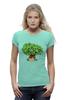 """Футболка Wearcraft Premium (Женская) """"iCalistini The Life Tree Дерево Жизни"""" - счастье, tree, дерево жизни, icalistini"""