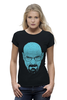 "Футболка Wearcraft Premium (Женская) ""Heisenberg"" - во все тяжкие, breaking bad, heisenberg, хайзенберг, гайзенберг"
