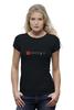 """Футболка Wearcraft Premium (Женская) """"Классическая футболка Dota 2"""" - dota, dota 2, dota2"""