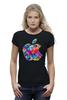 """Футболка Wearcraft Premium """"Apple"""" - футболка, популярные, в подарок, футболка женская"""