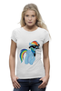 "Футболка Wearcraft Premium (Женская) ""20 % cooler"" - pony, rainbow dash, mlp, пони, ponies"