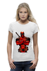 "Футболка Wearcraft Premium ""Deadpool "" - deadpool, дедпул"