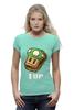 """Футболка Wearcraft Premium (Женская) """"Одна Жизнь (Марио)"""" - mario, mushroom, марио, грибочек, сэндвич"""