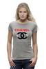 "Футболка Wearcraft Premium ""Chanel"" - духи, бренд, fashion, коко шанель, brand, coco chanel, шанель, perfume, karl lagerfeld, карл лагерфельд"