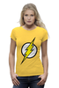 "Футболка Wearcraft Premium ""The Flash (Молния)"" - comics, flash, dc, флэш"