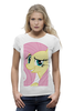"Футболка Wearcraft Premium (Женская) ""My Little Pony: Флаттершай"" - pony, mlp, my little pony, пони, friendship is magic, fluttershy, флаттершай"