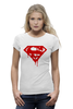 "Футболка Wearcraft Premium ""Superman Death Of Bloody"" - кровь, superman, фильм, blood, супермэн"