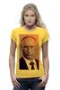 "Футболка Wearcraft Premium ""Путин-Арт"" - россия, путин, президент, putin, кремль"