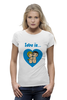 "Футболка Wearcraft Premium ""love is..."" - heart, love is"