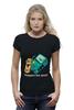 "Футболка Wearcraft Premium (Женская) """"BIMO"" Время приключений "" - скейтборд, adventure time, время приключений, skateboard, finn"