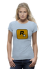 "Футболка Wearcraft Premium ""Rockstar Games"" - grand theft auto, gta, rockstar, гта, рокстар, rockstar games"