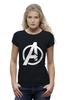 "Футболка Wearcraft Premium (Женская) ""Мстители (The Avengers)"" - hulk, marvel, мстители, железный человек, iron man, халк, the avengers"