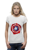 "Футболка Wearcraft Premium ""Captain America "" - капитан америка, captain america"