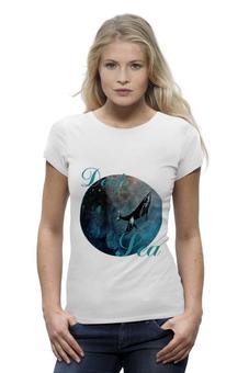 """Футболка Wearcraft Premium """"Deep sea"""" - море, в подарок, оригинально, футболка женская, sea"""