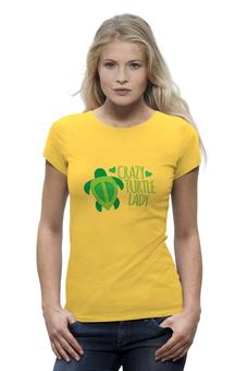 """Футболка Wearcraft Premium """"turtle lady"""" - любовь, девичник, черепашки, turtle lady"""