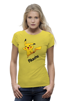 "Футболка Wearcraft Premium ""Pikachu"" - pokemon, покемон, пикачу, pikachu"