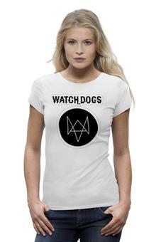 """Футболка Wearcraft Premium """"Футболка Watch_Dogs by PJ"""" - pjstore, watchdogs"""