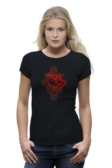 "Футболка Wearcraft Premium ""Auto-de-fe"" - арт, девушка, футболка, оригинально, футболка женская"