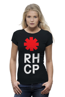 "Футболка Wearcraft Premium ""Red Hot Chili Peppers"" - red hot chili peppers, красные острые перцы чили, rhcp"