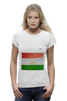 "Футболка Wearcraft Premium ""Флаг Таджикистана"" - арт, флаг, tajlife, таджикистана"