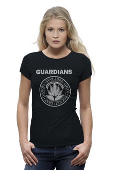 """Футболка Wearcraft Premium (Женская) """"Стражи Галактики"""" - комиксы, супергерои, стражи галактики, guardians of the galaxy, ramones"""