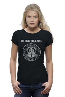 "Футболка Wearcraft Premium ""Стражи Галактики"" - комиксы, супергерои, стражи галактики, guardians of the galaxy, ramones"