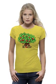 """Футболка Wearcraft Premium """"iCalistini The Love Tree Дерево Любви"""" - счастье, дерево счастья, дерево любви"""