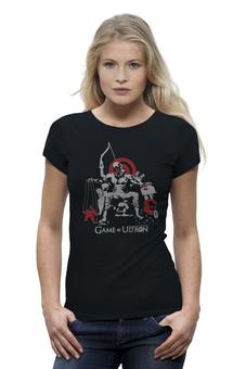 """Футболка Wearcraft Premium (Женская) """"Мстители: Эра Альтрона"""" - avengers, железный человек, капитан америка, игра престолов, ultron"""