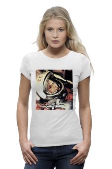"""Футболка Wearcraft Premium """"Космос Наш! """" - любовь, арт, авторские майки, футболка, популярные, мужская, оригинально, девушке, футболка женская, креативно"""