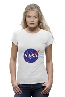 "Футболка Wearcraft Premium ""NASA | НАСА"" - звезды, космос, nasa, футболка космос, одежда космос"