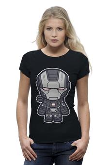 """Футболка Wearcraft Premium (Женская) """"Iron Man (Железный человек)"""" - марвел, железный человек, iron man"""
