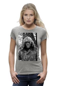 "Футболка Wearcraft Premium ""Варг Викернес"" - музыка, футболка, футболка женская, метал, варг"