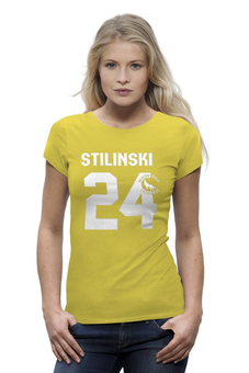 "Футболка Wearcraft Premium ""Stilinski 24"" - волчонок, teen wolf, stilinski, стайлз"
