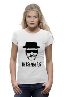 """Футболка Wearcraft Premium """"Heisenberg"""" - во все тяжкие, драма, breaking bad, гейзенберг, walter white"""