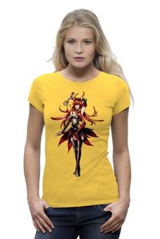 """Футболка Wearcraft Premium """"девушка аниме"""" - в подарок, аниме, герой, подарок, девушка-воин"""