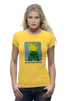 "Футболка Wearcraft Premium ""Царевна"" - царевна, лягушка, корона"