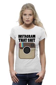 """Футболка Wearcraft Premium """"Инстаграм"""" - фото, foto, instagram, селфи, selfi"""