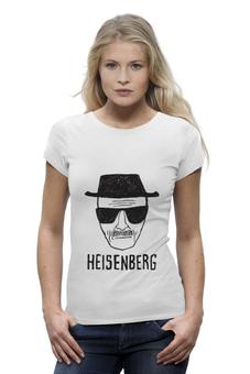 "Футболка Wearcraft Premium ""Heisenberg (Breaking Bad)"" - арт, во все тяжкие, walter white, уолтер уайт, heisenberg"