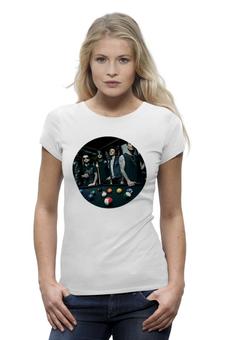 """Футболка Wearcraft Premium """"A7X Shirt"""" - арт, авторские майки, популярные, прикольные, в подарок, оригинально, девушке, футболка женская, креативно"""