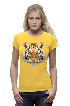 """Футболка Wearcraft Premium (Женская) """"Tiger"""" - tiger, тигр"""