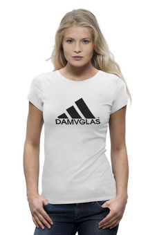 """Футболка Wearcraft Premium """"Adidas"""" - адидас, футбол, бокс, карате, мма"""