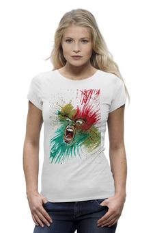 """Футболка Wearcraft Premium """"крик#1"""" - авторские майки, футболка, прикольные, в подарок, оригинально, футболка женская, креативно, 30pk"""