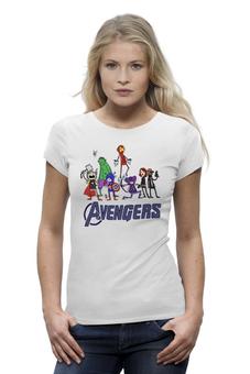 "Футболка Wearcraft Premium (Женская) ""Мстители (Avengers)"" - мстители"