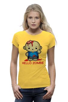 """Футболка Wearcraft Premium (Женская) """"Зомби"""" - zombie"""