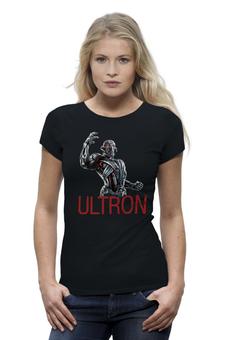"""Футболка Wearcraft Premium (Женская) """"Эра Альтрона"""" - мстители, эра альтрона, альтрон, ultron"""