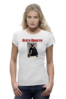 "Футболка Wearcraft Premium ""Агата Кристи"" - музыка, рок, 2015, агата кристи"