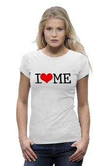 """Футболка Wearcraft Premium """"I love me"""" - я люблю себя, i love me"""